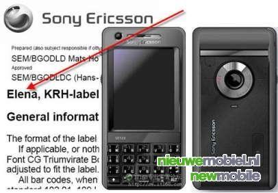 Weer geruchten over de Sony Ericsson M610i