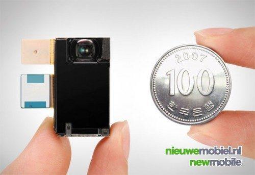 Samsung's 8 megapixel telefoon op schema