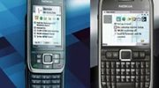 Persafbeeldingen Nokia E66 en E71