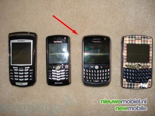 BlackBerry Javelin in het wild