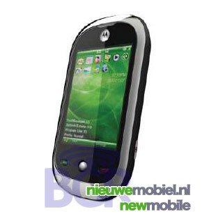 Motorola ook bezig met QWERTY-loze Windows smartphone