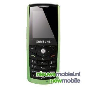 Milieuvriendelijke Samsung E200 is gemaakt van mais-bioplastic