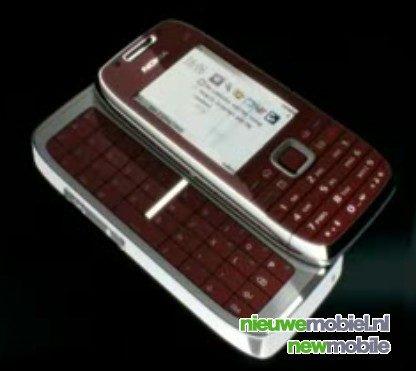 Nieuwe zakelijke Nokia E72 en E75 gespot in video