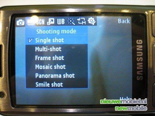 Eerste live foto's van Samsung's nieuwe i7110