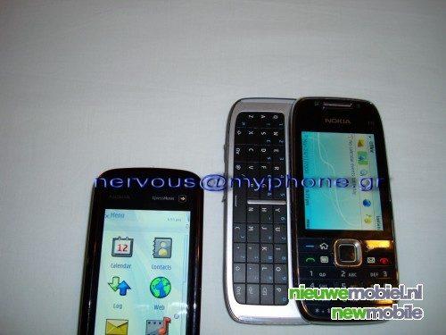 Nieuwe spy shots Nokia E75