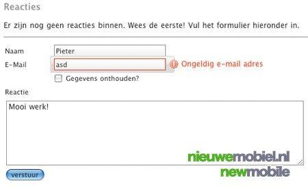 NieuweMobiel.NL voegt reactiemogelijkheid toe