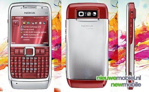 Nieuwe Nokia E71 kleuren bevestigd