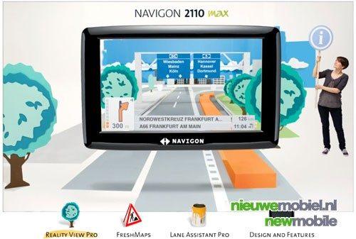 Navigon 2110 MAX navigatiesysteem