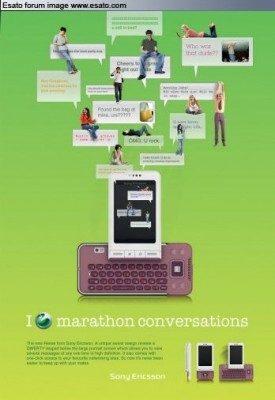 MWC 2009: Sony Ericsson QWERTY swivel?