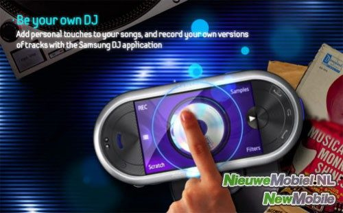 Samsung M7600 Beat DJ met speciaal Radio 538 Pack