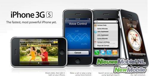 Apple kondigt nieuwe iPhone 3GS aan