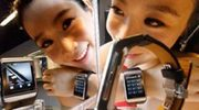 Samsung S9110; touchscreen watchphone