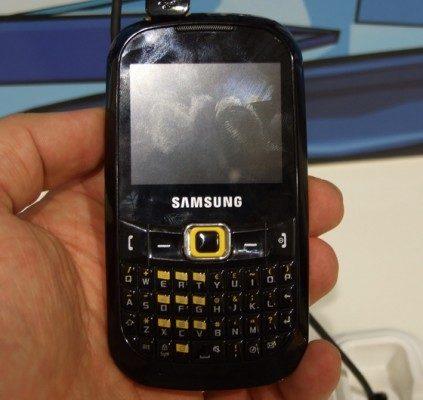Samsung zet met nieuwe B3410 en B3210 stevig in op Qwerty-phones