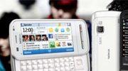 Nokia C3, C6 en E5 messagingphones onthuld