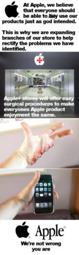 iPhone surgery