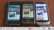 Video comparison Windows Phone 7 vs iPhone vs Android