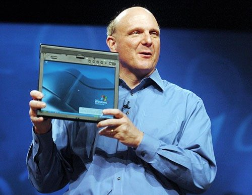 Steve Ballmer Tablet PC