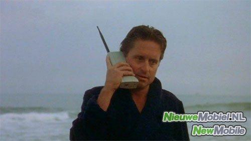 Michael Douglas Wall Street Mobile Phone