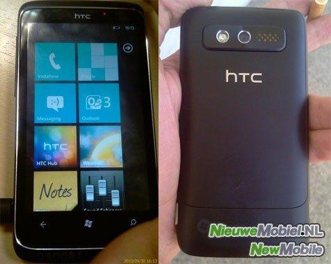 HTC Spark Windows Phone 7