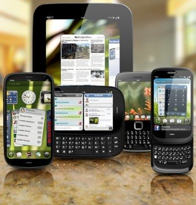 New Palm webOS devices