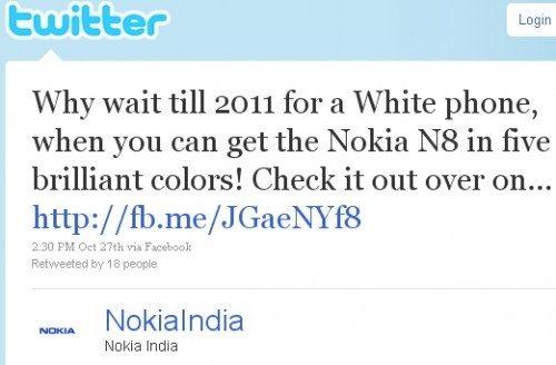 Nokia gaat de strijd aan