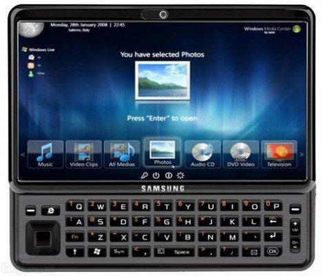 Samsung Gloria; 10-inch Windows 7-tablet