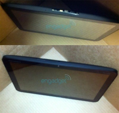 Motorola Honeycomb-tablet sides