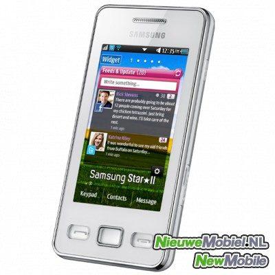 Samsung S5260 Star II front