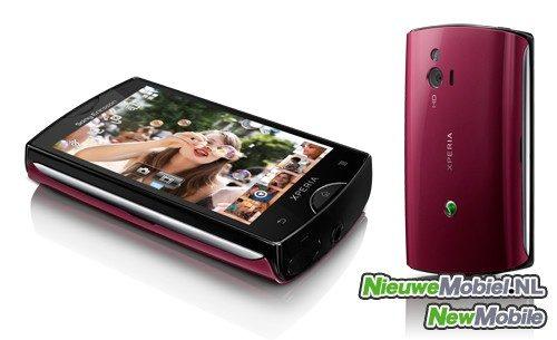 Sony Ericsson Xperia mini pink