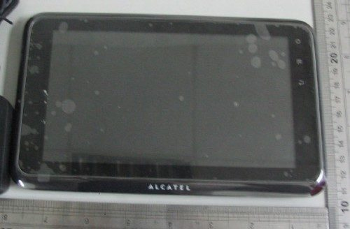 Alcatel onetouch t60 android tablet fcc