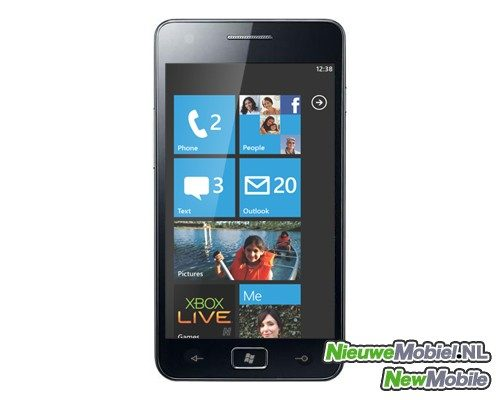 Samsung komt Windows Phone-variant Galaxy SII