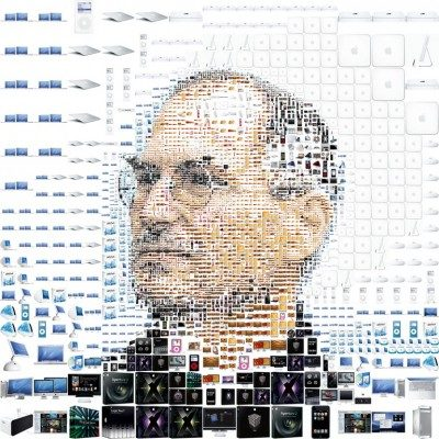 Steve Jobs in Apple Products