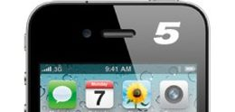 iPhone 5 thinner and lighter than iPhone 4