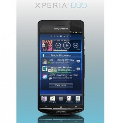 Sony ericsson xperia duo android press photo