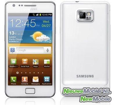 Galaxy S2 White