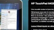 HP komt met witte 64 GB-versie van TouchPad