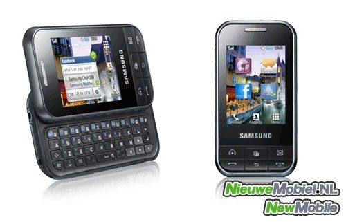 Samsung Nederland publiceert C3500 op website