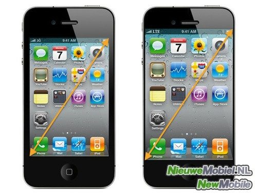 Apple iPhone 3.5 and 4 inch