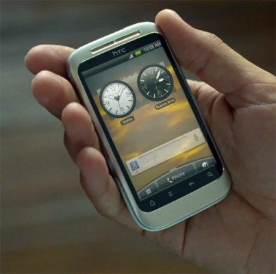 De HTC Wildfire 2?