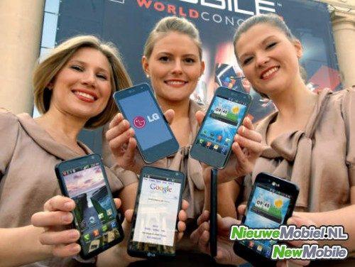 LG Phone Lineup