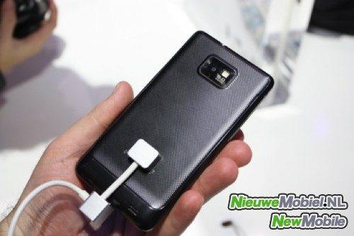 Samsung galaxy s ii back