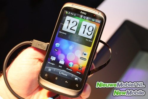 HTC Desire S front