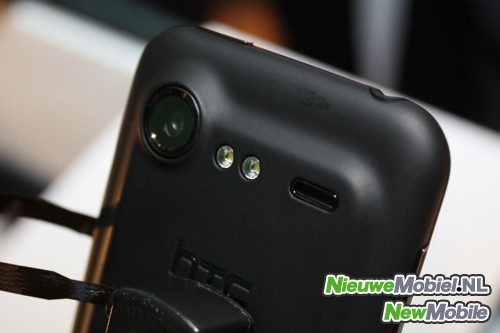 HTC Incredible S back