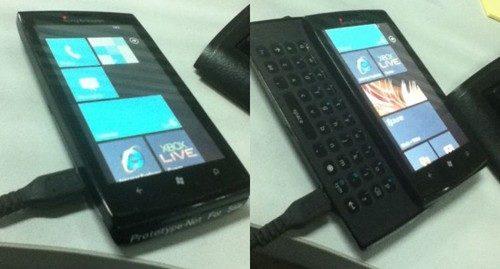 Sony Ericsson Windows Phone 7 prototype