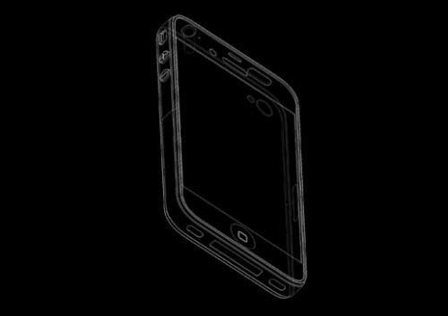 iPhone 5 engineering diagram