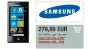 Samsung Omnia 7 op de markt gedumpt