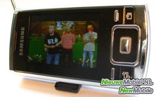 MobielTV op de Samsung P960