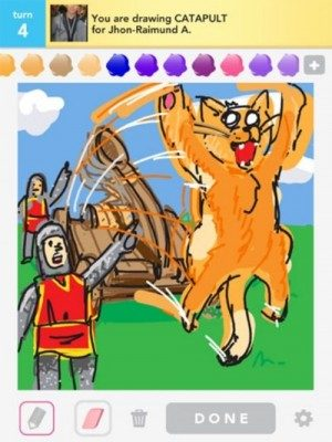 Draw Something Awesome drawing