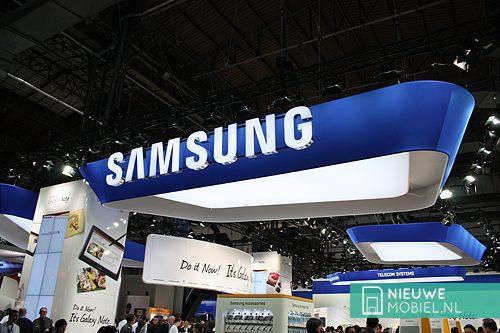 Samsung stand MWC 12