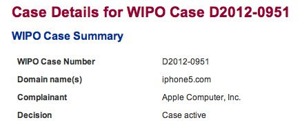 WIPO iphone5.com